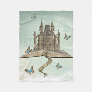 Fairytale Storybook Small Fleece Blanket