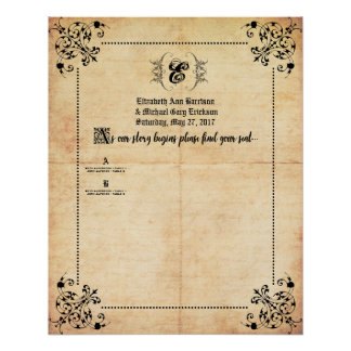 Fairytale Wedding Seating Chart