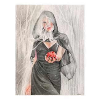 Fairytale Witch Postcard