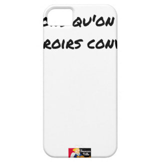 FAIS YOU LEFT THE IDIOTS WHOM ONE UPSETS BY iPhone 5 COVER