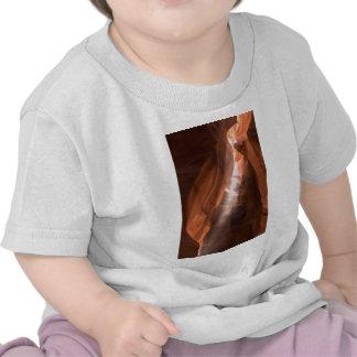 Faisceau lumineux de canyon supérieur d'antilope t-shirt