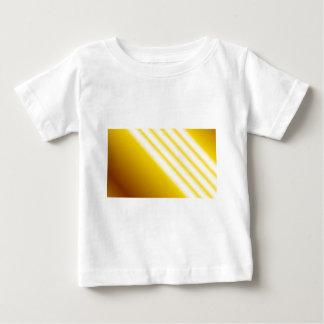 Faisceaux lumineux sur l'arrière - plan jaune t-shirt pour bébé