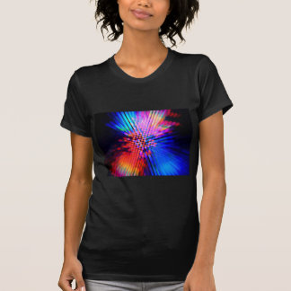 faisceaux lumineux tee-shirts