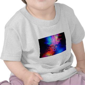 faisceaux lumineux t-shirt