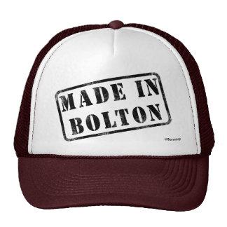 Fait à Bolton Casquette