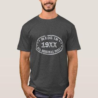 Fait dans [année] tout l'original partie le t-shirt