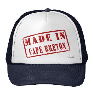 Fait dans le Breton de cap Casquettes