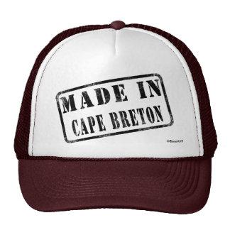 Fait dans le Breton de cap Casquettes De Camionneur