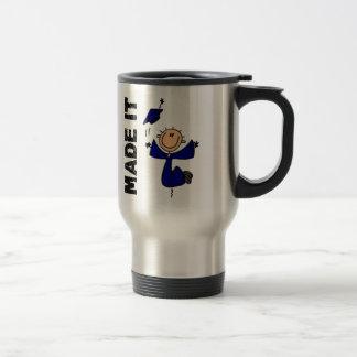 FAIT LUI le chiffre obtention du diplôme de bâton Mugs À Café