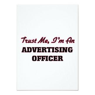 Faites confiance que je je suis un dirigeant de la carton d'invitation  12,7 cm x 17,78 cm