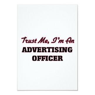 Faites confiance que je je suis un dirigeant de la carton d'invitation 8,89 cm x 12,70 cm