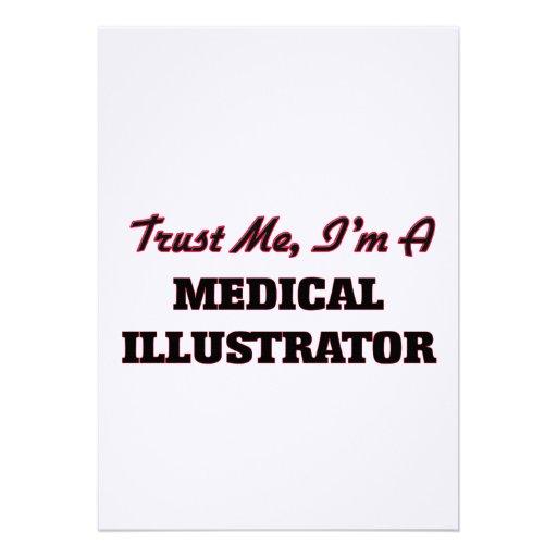 Faites confiance que je je suis un illustrateur invitations