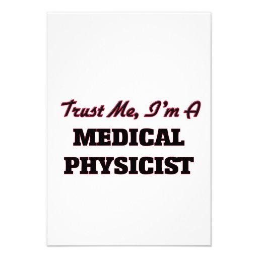 Faites confiance que je je suis un physicien faire-parts
