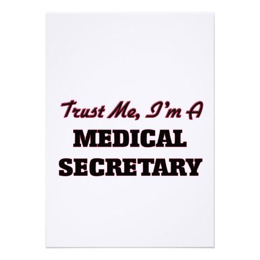 Faites confiance que je je suis un secrétaire faire-part