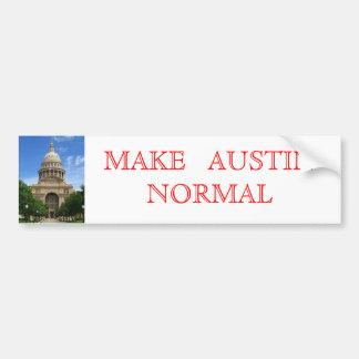 Faites la normale d'Austin Autocollant De Voiture