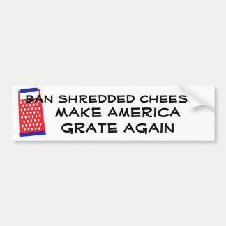 Faites l'Amérique râper encore l'humour drôle Autocollant De Voiture