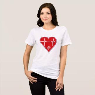 Faites le coeur du battement de la France T-shirt