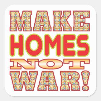 Faites les maisons v2b stickers carrés