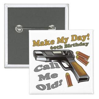 Faites mes soixantième cadeaux d'anniversaire de j pin's avec agrafe