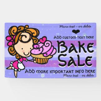 \ Faites Sale.Advertise cuire au four Banderoles