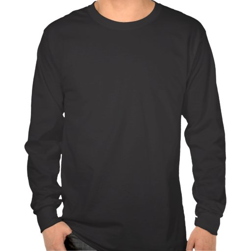 Faites vos propres garder la longue chemise gainée t-shirts