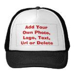 Faites votre propre chapeau casquettes de camionneur