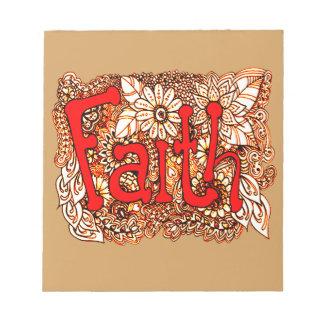 Faith 1 notepad