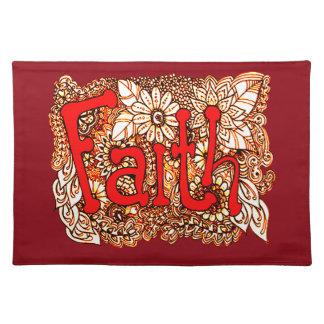 Faith 1 placemat