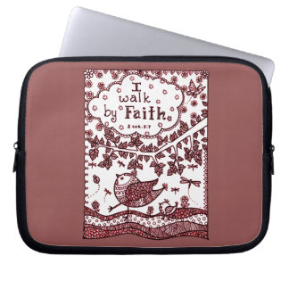 Faith 2 laptop sleeve