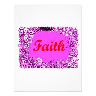 Faith 3 letterhead