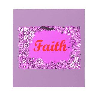 Faith 3 notepad