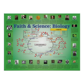 Faith and Science: Biology (Krebs Cycle) Poster