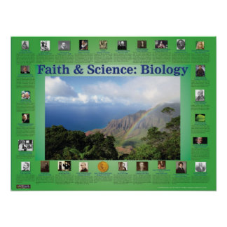 Faith and Science: Biology Poster