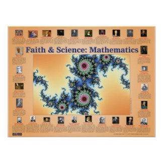 Faith and Science Mathematics Print