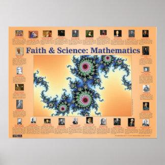 Faith and Science Mathematics Print