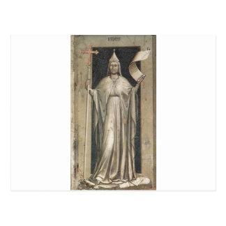 Faith by Giotto Postcard