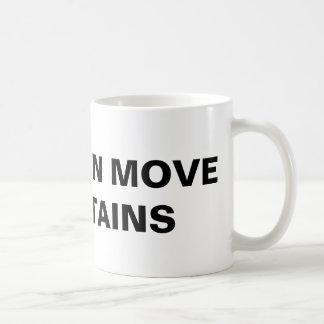 """""""Faith Can Move Mountains"""" Classic Mug"""