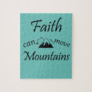 Faith Can Move Mountains Jigsaw Puzzle