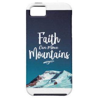 Faith can move Mountains Phone case