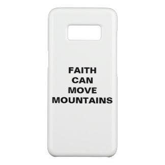 """""""Faith Can Move Mountains"""" Samsung Galaxy S8 Case"""