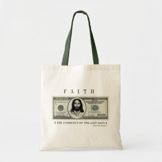 FAITH CURRENCY TOTE
