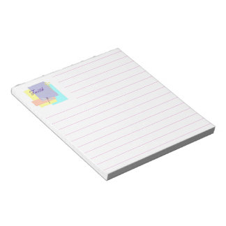Faith dragonfly notepad