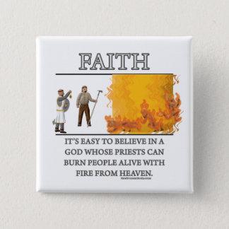 Faith Fantasy (de)Motivator 2 Inch Square Button