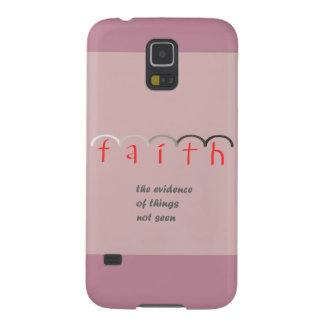 """Faith"" - Feminine Pink Phone Case"