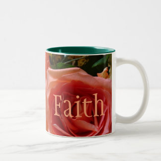 'Faith' Flower Mug