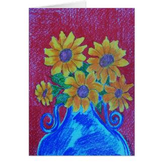 Faith Flowers Card