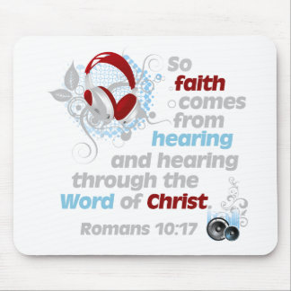 Faith from Hearing Mouse Pad
