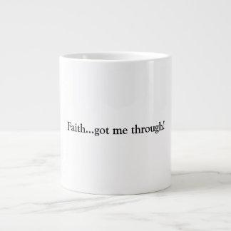 Faith Giant Coffee Mug