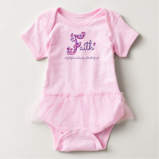 Faith girls name & meaning F monogram shirt