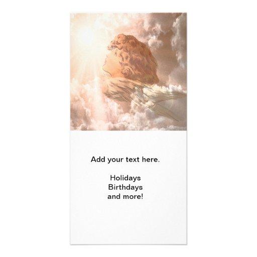 Faith Guardian Angel Photo Cards